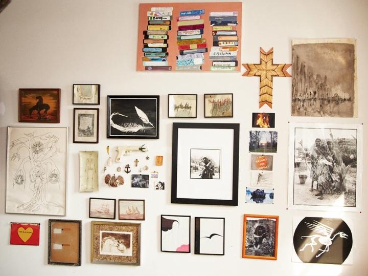 billede væg