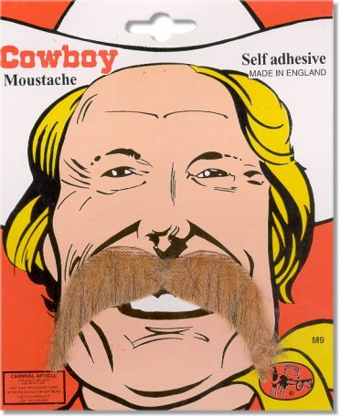 cowboy moustache